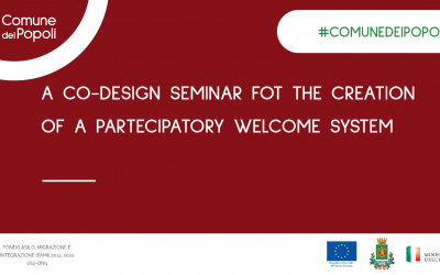 A CO-DESIGN SEMINAR FOR THE CREATION OF A PARTICIPATORY WELCOME SYSTEM