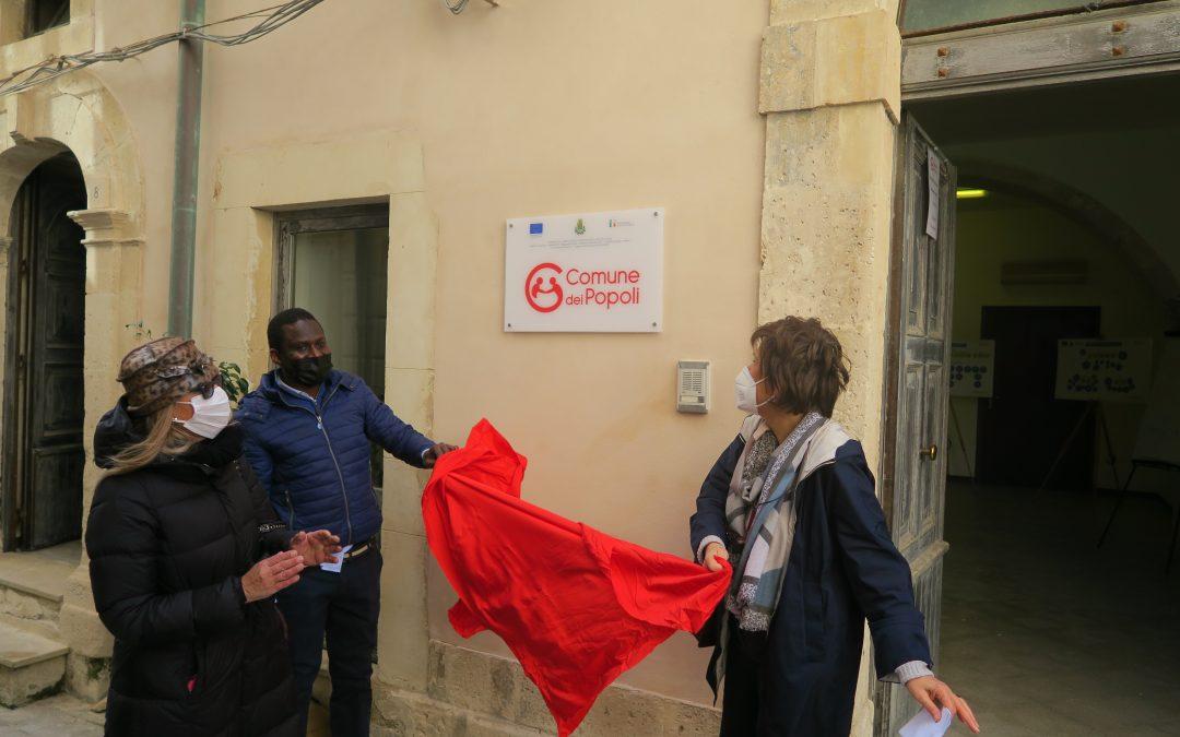 Inaugurato l'ufficio del Comune dei Popoli